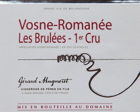 Vosne-Romanée Les Brulées – 1er Cru