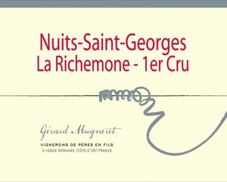 Nuits Saint Georges «La Richemone» 1er Cru.